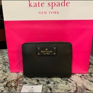 NWT Authentic Kate Spade Dani Leather Mini Wallet